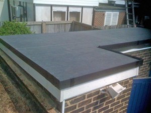 recent installation for epdm flat roofing in altrincham on george street