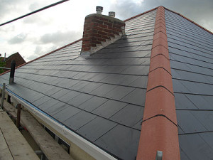 latest project for slate roofing in altrincham, complete new roof installation